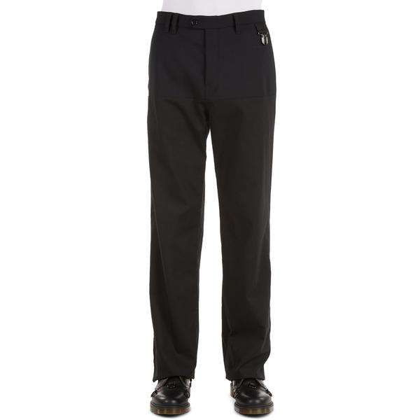 ラフ・シモンズ メンズ カジュアルパンツ ボトムス Horizontal Panel Wool Blend Pants Black99