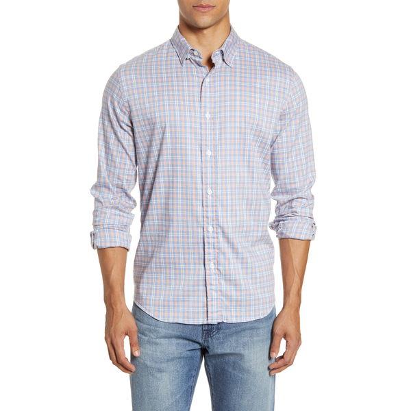 ファエティ メンズ シャツ トップス Movement Plaid Button-Up Shirt Redondo Plaid