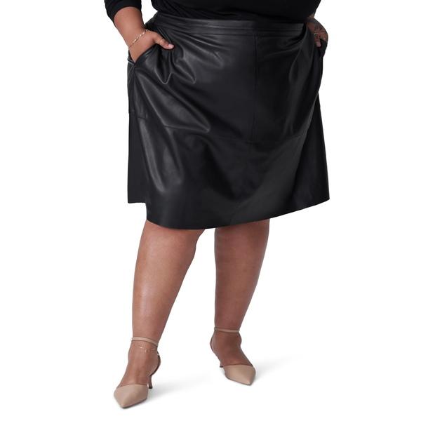 ユニバーサルスタンダード レディース スカート ボトムス Taylor Faux Leather Skirt Black