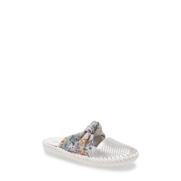 バーニーメブ レディース サンダル シューズ Mule Silver/ Bloom Fabric
