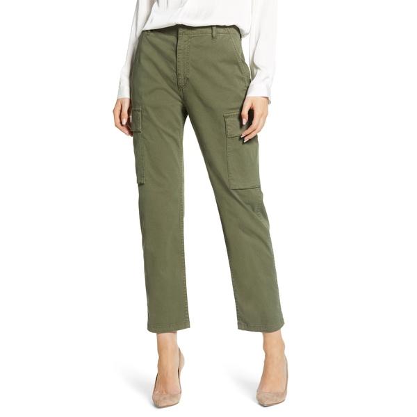 シチズンズ オブ ヒューマニティ レディース カジュアルパンツ ボトムス Gaia Stretch Twill Crop Cargo Pants Army Green