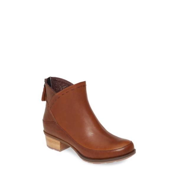 チャコ レディース ブーツ&レインブーツ シューズ Cataluna Waterproof Bootie Ochre Leather