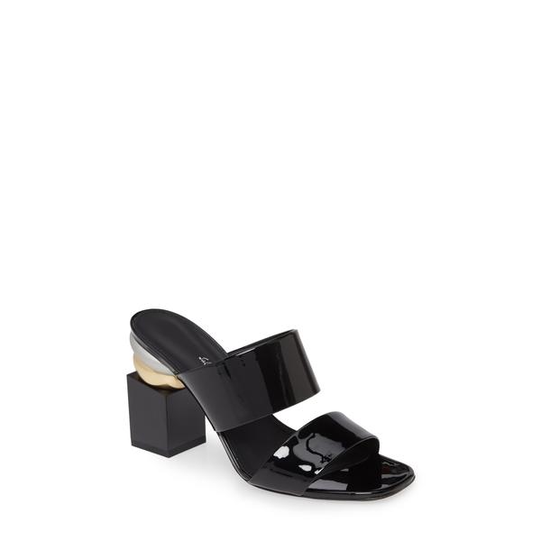 サルヴァトーレ フェラガモ レディース サンダル シューズ Lotten Block Heel Slide Sandal Black