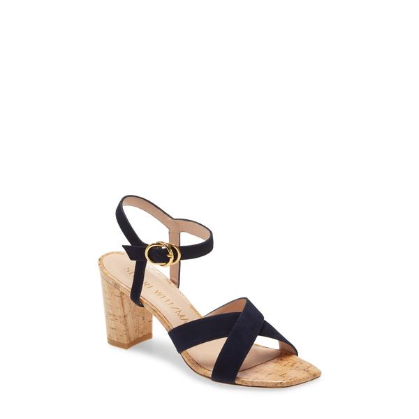 スチュアート ワイツマン レディース サンダル シューズ Analeigh Ankle Strap Sandal Nice Blue