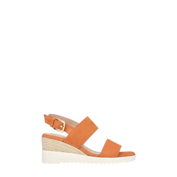 イヴァルヴ レディース サンダル シューズ Zen Sandal Orange SuedeSMGjqULVpz