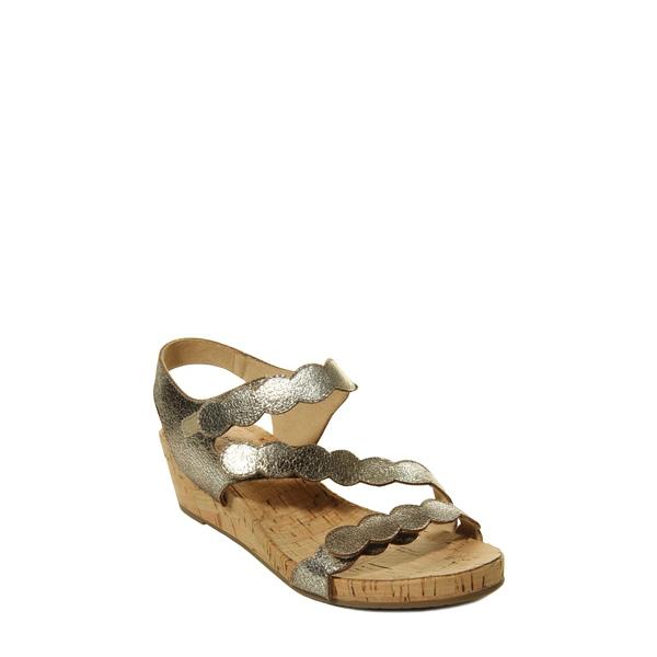 ベネリ レディース サンダル シューズ Kabie Platform Wedge Sandal Yellow Leather