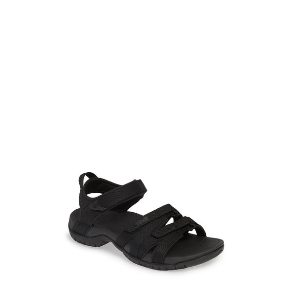 テバ レディース サンダル シューズ 'Tirra' Sandal Black/ Black Fabric