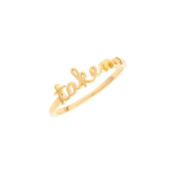 エスブイディー バイ シドニーエヴァン レディース リング アクセサリー Taken Ring Gold
