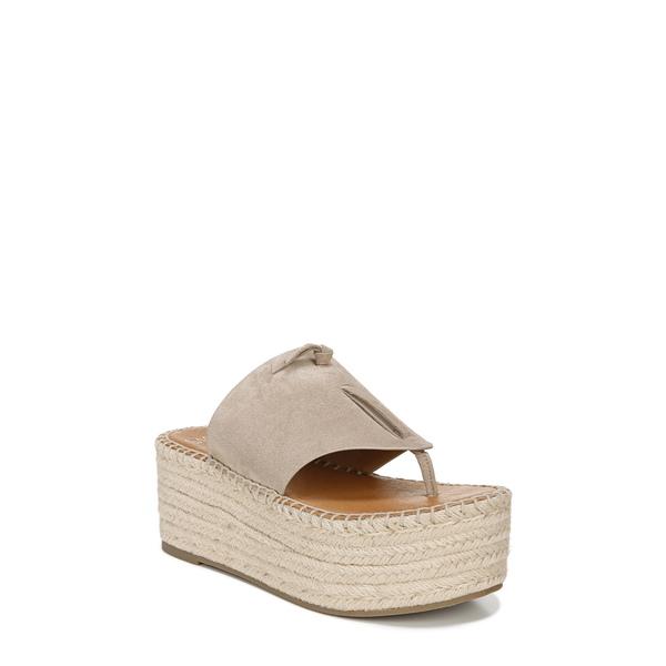 サルトバイフランコサルト レディース サンダル シューズ Malia Espradrille Wedge Slide Sandal Sand Leather