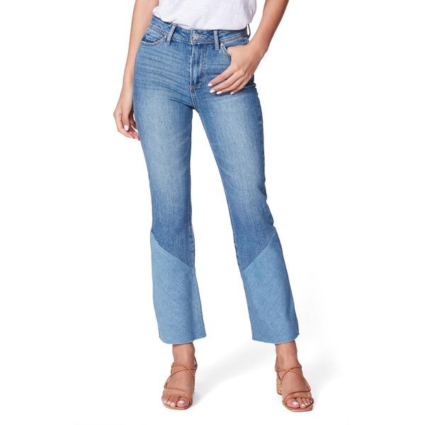 ペイジ レディース デニムパンツ ボトムス Colette High Waist Twisted Crop Flare Jeans Emmylou