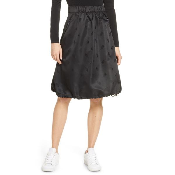 ノースフェイス レディース スカート ボトムス Black Series Logo Jacquard Skirt Black