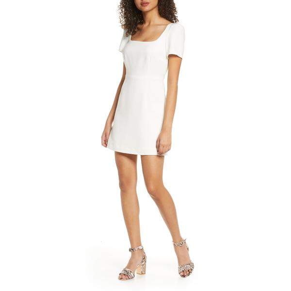 フレンチコネクション レディース ワンピース トップス Awiti Whisper Ruth Sheath Dress Summer White