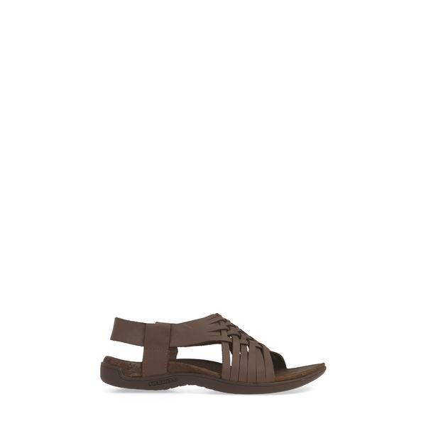 メレル レディース サンダル シューズ District Mahana Backstrap Sandal reddish‐brown LeathertQdrBCsxh