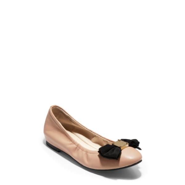 コールハーン レディース サンダル シューズ Tali Ballet Flat Nude Leather