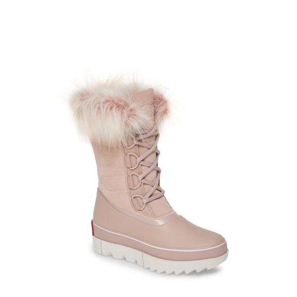 ソレル レディース ブーツ&レインブーツ シューズ Joan of Arctic Next Faux Fur Waterproof Snow Boot Mauve Vapor Leather