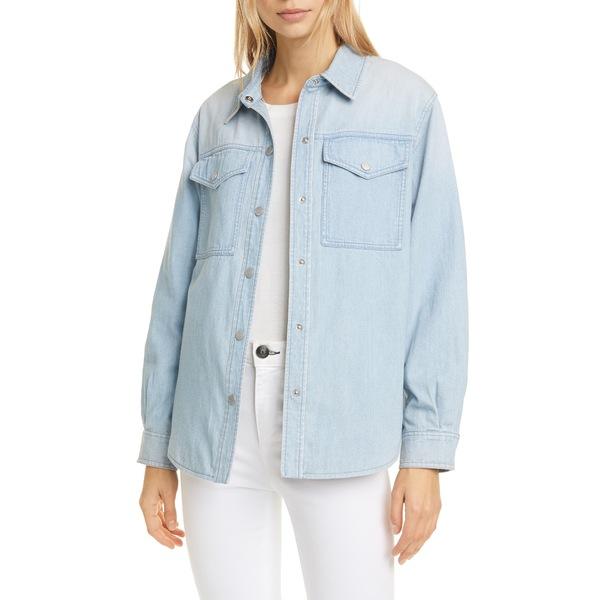 レベッカテイラー レディース ジャケット&ブルゾン アウター Denim Shirt Jacket Clair Wash