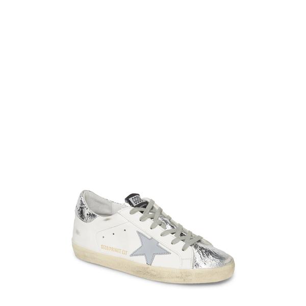 ゴールデングース レディース スニーカー シューズ Superstar Sneaker White Leather/ Silver