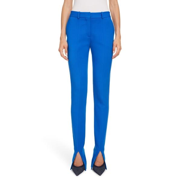 ヴィクトリア ベッカム レディース カジュアルパンツ ボトムス Split Cuff Skinny Pants Cobalt