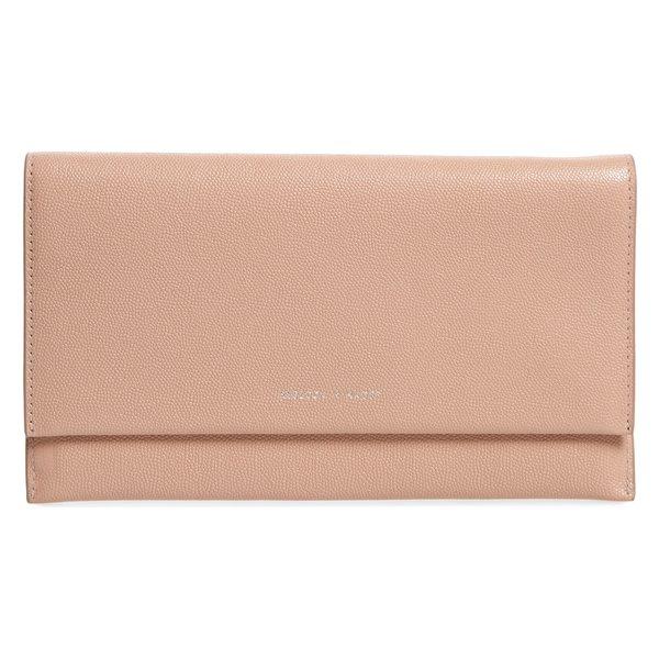 レベッカミンコフ レディース クラッチバッグ バッグ Rebecca Minkoff Leather Wallet Clutch Doe