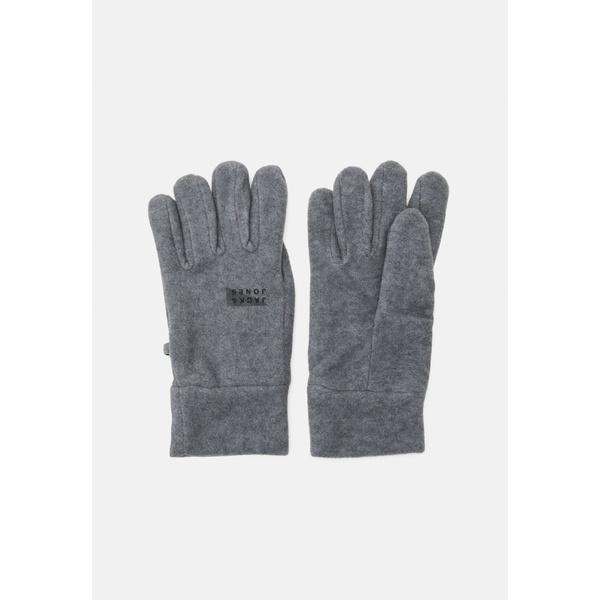 チープ ジャック アンド ジョーンズ メンズ プレゼント アクセサリー 手袋 GLOVE grey - 全商品無料サイズ交換 Gloves JACWEST