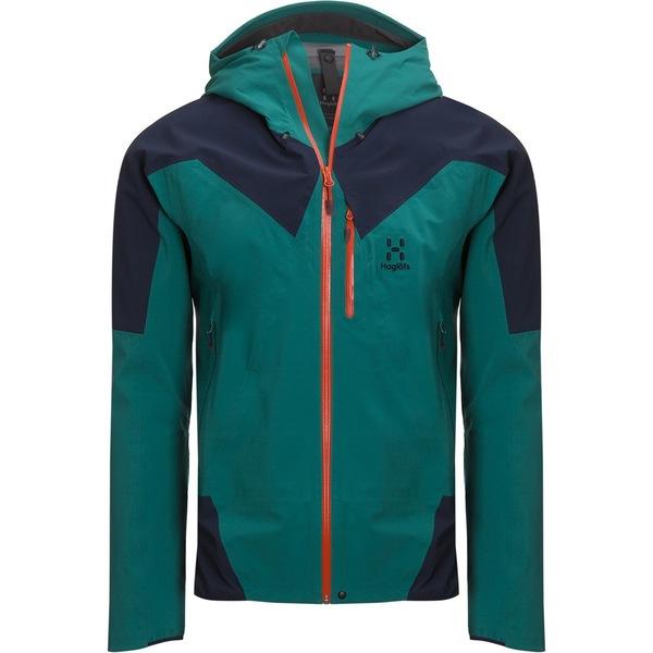 ホグロフス メンズ スキー スポーツ L.I.M Touring Proof Jacket Alpine Green/Tarn Blue