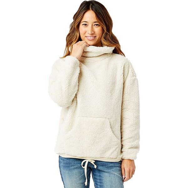 カーブデザイン レディース パーカー・スウェットシャツ アウター Roley Cowl Neck Pullover Sweatshirt Birch