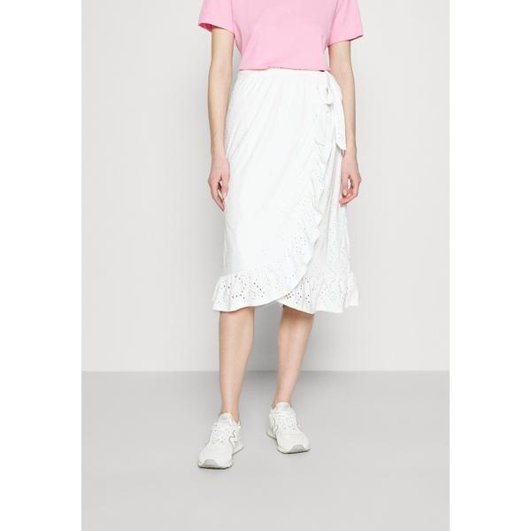 ヴィラ レディース ボトムス スカート snow white 全商品無料サイズ交換 VITAWA skirt - セール WRAP MIDI unvl01ac ストアー EMBROIDERY SKIRT A-line