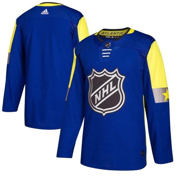 アディダス メンズ ユニフォーム トップス Atlantic Division adidas 2018 NHL AllStar Game Authentic Blank Jersey Royal
