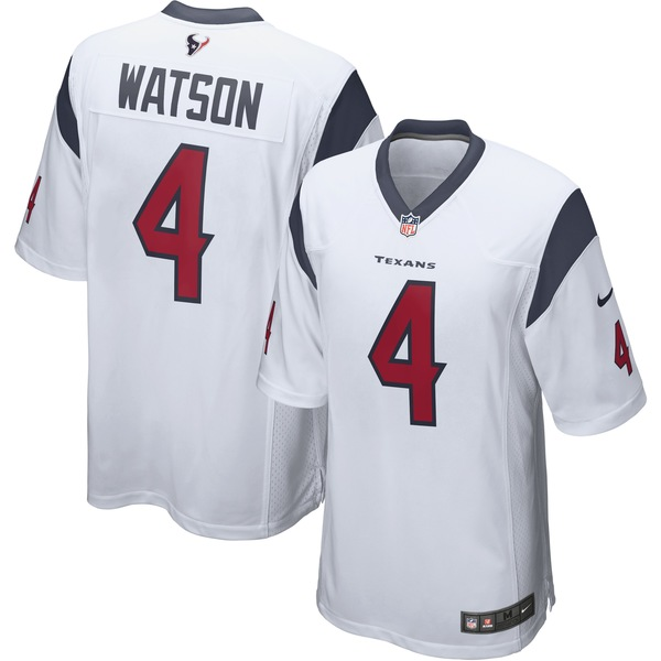 ナイキ メンズ ユニフォーム トップス Deshaun Watson Houston Texans Nike Vapor Limited Jersey White