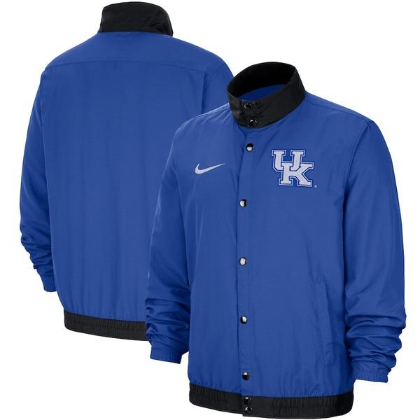 ナイキ メンズ ジャケット&ブルゾン アウター Kentucky Wildcats Nike DNA Bomber Jacket Royal