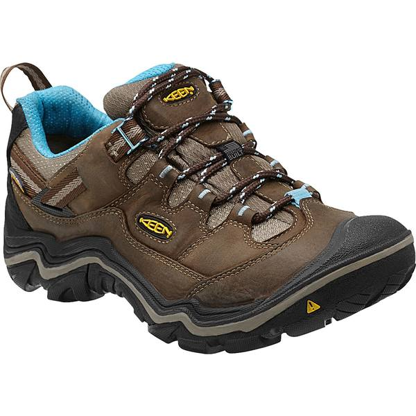 キーン レディース ブーツ&レインブーツ シューズ KEEN Women's Durand Low Waterproof Hiking Shoes DarkEarth