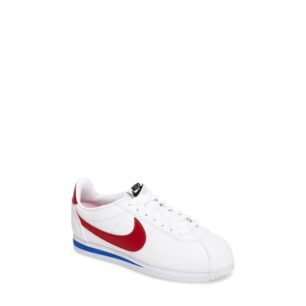 ナイキ レディース スニーカー シューズ Classic Cortez Sneaker White/ Varsity Red