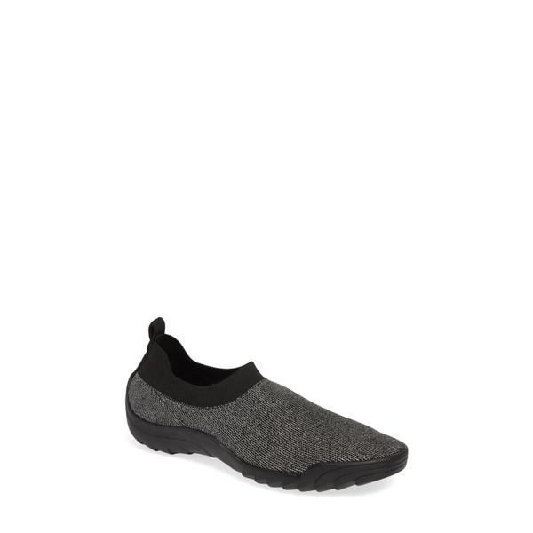 バーニーメブ レディース スニーカー シューズ Shiloh Sneaker Black/ Silver Fabric