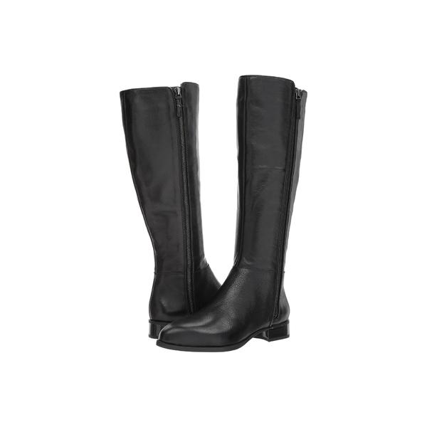 ナインウェスト レディース ブーツ&レインブーツ シューズ Nihari Tall Boot Black Leather