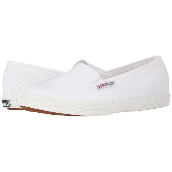スペルガ レディース スニーカー シューズ 2210 COTW Slip-On Sneaker White