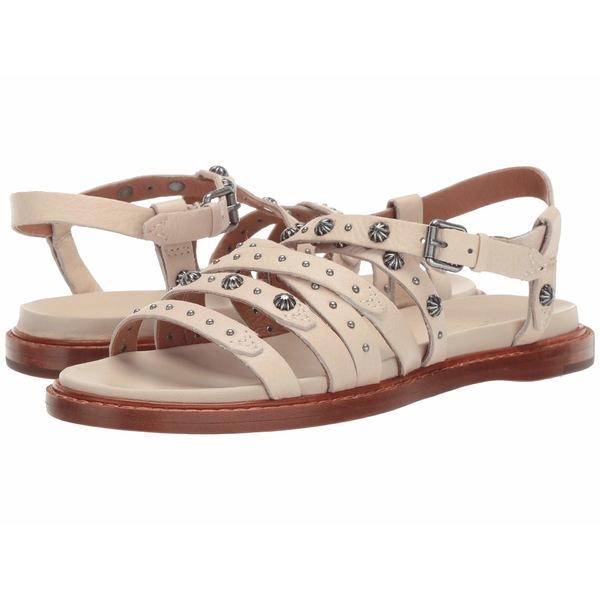 フライ レディース サンダル シューズ Alexa Concho Strappy Sandal Off-White