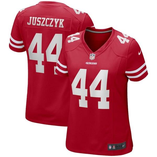 ナイキ レディース シャツ トップス Kyle Juszczyk San Francisco 49ers Nike Women's Game Jersey Scarlet