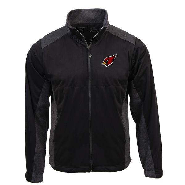 アンティグア メンズ ジャケット&ブルゾン アウター Arizona Cardinals Antigua Revolve Full-Zip Jacket Black