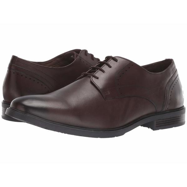 ハッシュパピー メンズ ドレスシューズ シューズ Advice PT Derby Dark Brown Leather