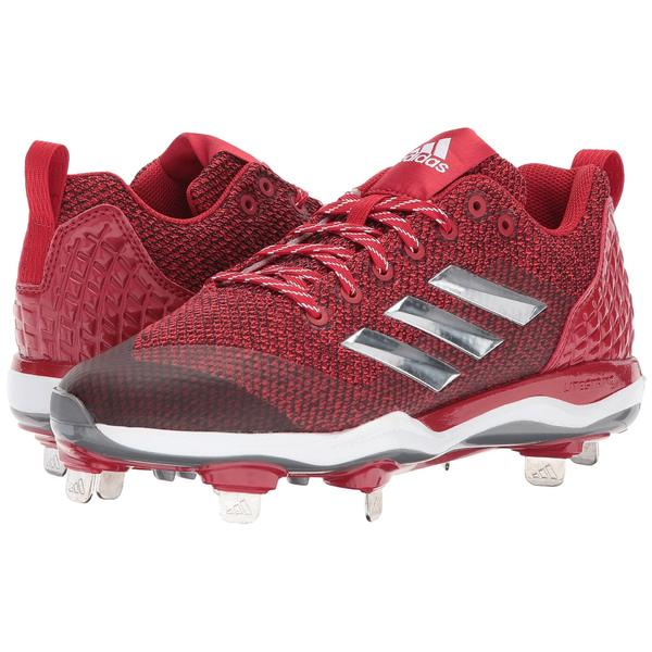 アディダス レディース スニーカー シューズ PowerAlley 5 Power Red/Silver Metallic/Footwear White