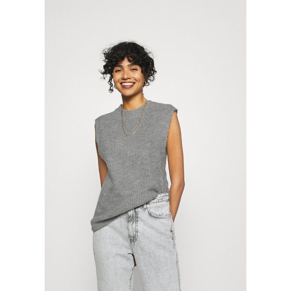 ヤス まとめ買い特価 レディース トップス Tシャツ medium grey melange T-shirt YASALLY 今だけスーパーセール限定 uspp00ec - 全商品無料サイズ交換 WAISTCOAT Print