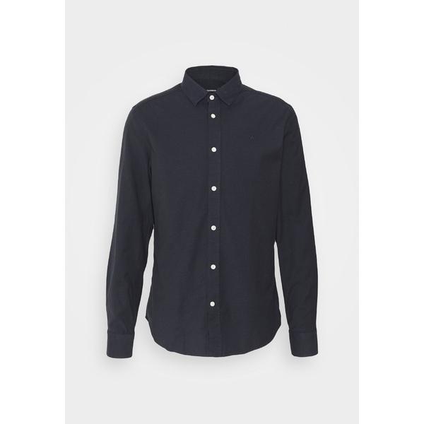 ジェイ リンドバーグ メンズ トップス シャツ お求めやすく価格改定 navy OXFORD - Shirt 当店限定販売 全商品無料サイズ交換 uspp00ed SLIM