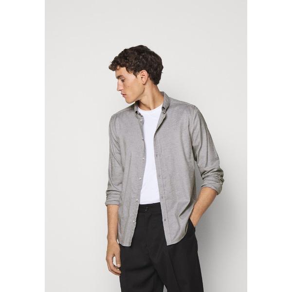 レ ドゥ オンラインショッピング メンズ トップス シャツ お気にいる light grey Shirt uspp00f0 melange - HARRISON 全商品無料サイズ交換