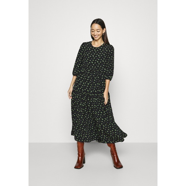 グラマラス レディース トップス ワンピース 商品追加値下げ在庫復活 black 全商品無料サイズ交換 TIERED Day DRESS - uspp00f3 MIDAXI アイテム勢ぞろい dress