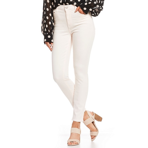 7フォーオールマンカインド レディース デニムパンツ ボトムス Hi-Waist Skinny Ankle Jeans Pink Sunrise