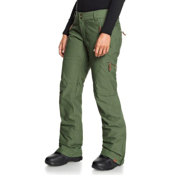 ロキシー レディース カジュアルパンツ ボトムス Roxy Cabin Pants - Women's Bronze Green