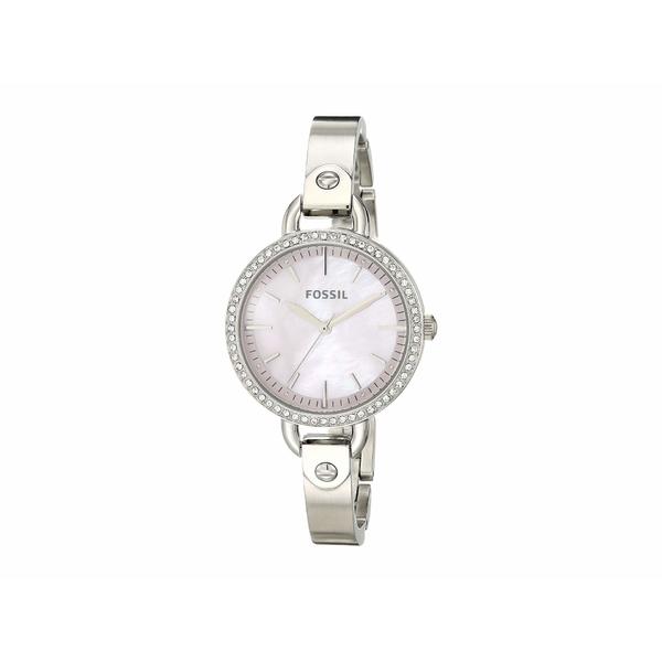 フォッシル レディース 腕時計 アクセサリー 32 mm Classic Minute BQ3222 Silver