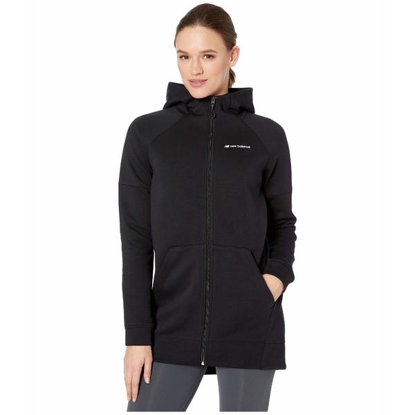 ニューバランス レディース コート アウター Sport Style Core Jacket Black