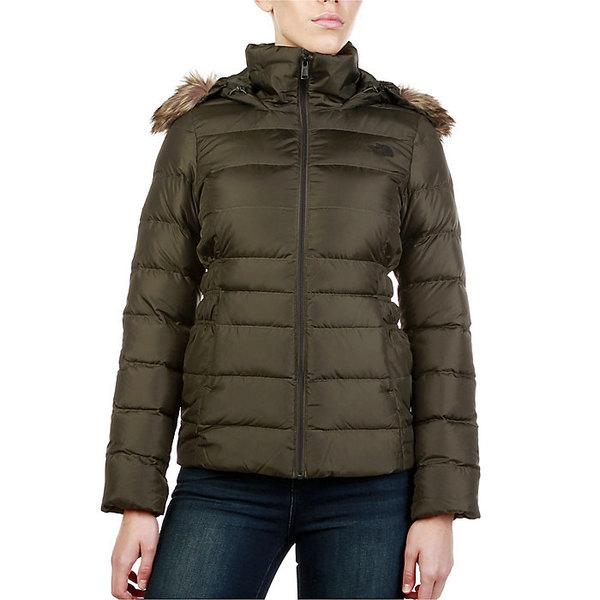 ノースフェイス レディース ジャケット&ブルゾン アウター The North Face Women's Gotham Jacket II New Taupe Green