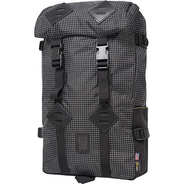 トポ・デザイン レディース ボストンバッグ バッグ Topo Designs Klettersack Bag Black / White